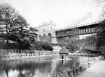 Valley Bridge and Duck Pond, Scarborough